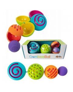 Kolorowe kule sensoryczne OombeeBall Fat Brain Toys - zdjęcie 1