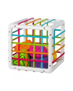 Elastyczna kostka sensoryczna sorter InnyBin Fat Brain Toys - zdjęcie 1