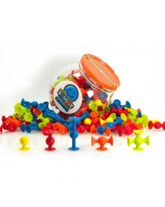 Przyssawki silikonowe mini Squigz - Fat Brain Toys 75 el.- zdjęcie 1