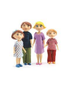 Djeco figurki do zabawy rodzina Gasparda & Romy - zdjęcie nr 1