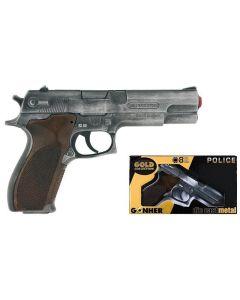 Pistolet dla dzieci Gonher zabawkowy na kapiszony- zdjęcie 1