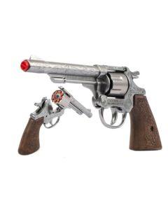 Pistolet rewolwer Gonher na kapiszony metalowy - zdjęcie 1