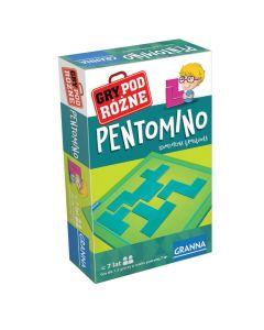 Gra podróżna Pentomino Granna geometryczna łamigłówka zdjęcie 1