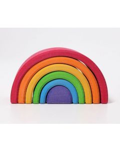 Grimms kolorowa tęcza drewniana 6-elementowa dla dzieci  - zdjęcie 1