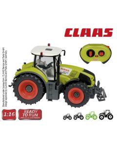 Traktor RC 1:16 Claas Axion 870 zdalnie sterowany - zdjęcie 1