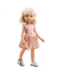 Hiszpańska lalka Claudia Paola Reina 32 cm zdjęcie 1
