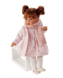 Hiszpańska lalka Antonio Juan Lula Bufanda interaktywna 55 cm zdjęcie 1