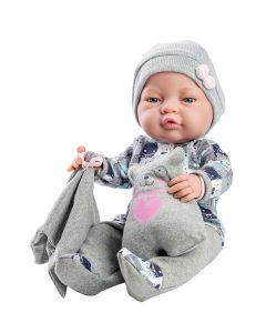 Hiszpańska lalka Paola Reina Bebita chłopiec 45 cm zdjęcie 1
