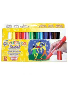 Farby w sztyfcie bez wody i pędzla Instant 12 kolorów