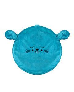 Pufa dla dziecka Kidspace mini morska foka - zdjęcie 1