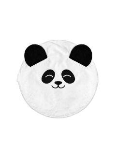 Pufa dla dziecka Kidspace biała panda zdjęcie - 1