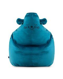 Pufy i fotele dla dzieci zwierzątka - pluszowe Minky - zdjęcie 1