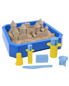 Piasek kinetyczny Kinetic Sand zestaw zamek z piaskownicą - zdjęcie 1