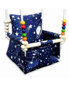 Huśtawka dla dziecka Kizia Mizia Kosmos  - zdjęcie nr 1