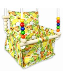Kizia Mizia huśtawka dla dziecka Egzotyczne Owoce - zdjęcie nr 1