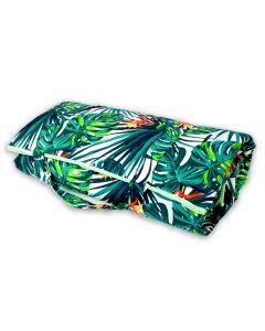 Kizia Mizia Koc piknikowy duży Zielone Palmy 180x200 - zdjęcie nr 1