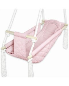 Kizia Mizia kołyska dla dziecka 3w1 Velvet Różowa - zdjęcie nr 1