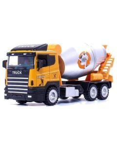 Ciężarówka betoniarka Koki Toys z ruchomymi elementami - zdjęcie 1