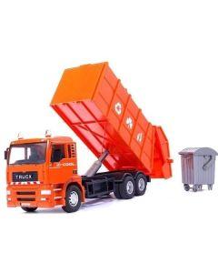 Ciężarówka śmieciarka Koki Toys z koszem - zdjęcie 1