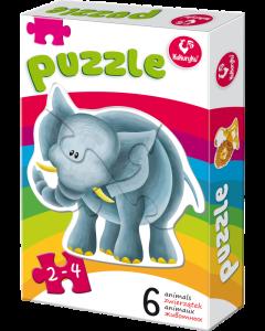 Puzzle zwierzaki Kukuryku - zdjęcie 1