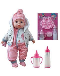 Lalka Bobas mówi śpiewa Duży zestaw + magiczne mleko - zdjęcie 1