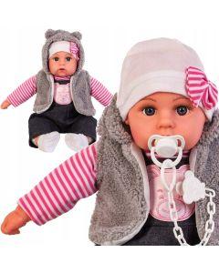 Bobas interaktywny lalka 45 cm mówi i śpiewa smoczek - zdjęcie 2