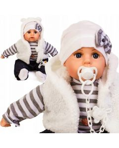 Bobas interaktywny lalka 45 cm mówi i śpiewa smoczek - zdjęcie 1
