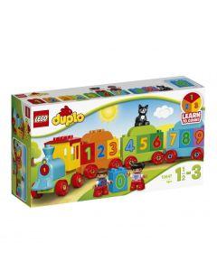 Pociąg z cyferkami Lego Duplo 10847 - zdjęcie 1