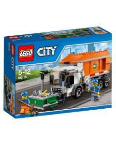 Lego City śmieciarka 60118