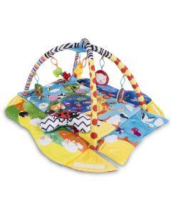 Mata edukacyjna i kojec Lionelo Anika 2w1 - zabawki dla 6 miesięcznego dziecka  - zdjęcie 1