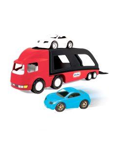 Tir laweta i dwa auta Little tikes 72cm - zdjęcie 1