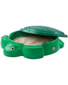 Piaskownica dla dzieci żółw Little Tikes zielona - zdjęcie 1