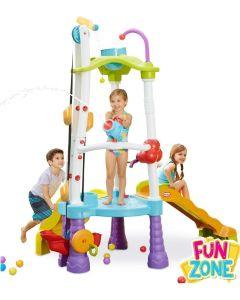Plac zabaw dla dzieci Little Tikes wieża do wspinaczki z kaskadą wodną - zdjęcie 1