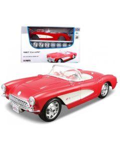 Samochód model metalowy do składania Maisto Chevrolet 1:24 - zdjęcie nr 1