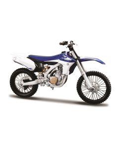 Motocykl Maisto Yamaha model cross YZ450F 1:12 - zdjęcie 1