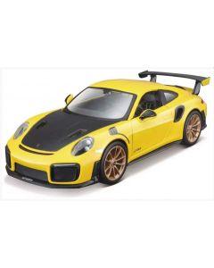 Samochód sportowy model do składania Maisto Porschie 911 GT2 RS 1:24  - zdjęcie 1