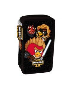 Piórnik dwukomorowy Angry Birds Star Wars II z wyposażeniem