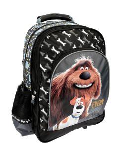 Plecak szkolny Secret Life Of Pets z pieskiem - zdjęcie 1