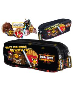 Saszetka dwukomorowa piórnik Angry Birds Star WARS II