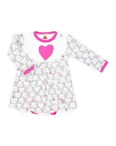 Body sukienka niemowlęca Makoma kotki - zdjęcie 1