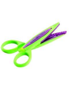 Nożyczki 13 cm Maped do wzorków fioletowe - zdjęcie 1