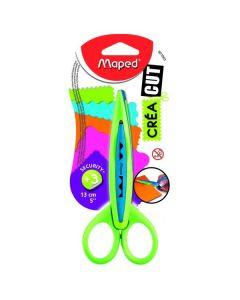 Nożyczki dla dzieci Maped do wzorków 13 cm niebieskie