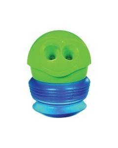 Temperówka dla dzieci podwójna croc croc Maped zielono-niebieska