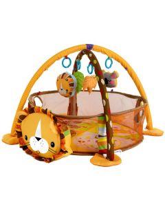 Kojec z piłkami mata edukacyjna 3w1 lew - zdjęcie 1