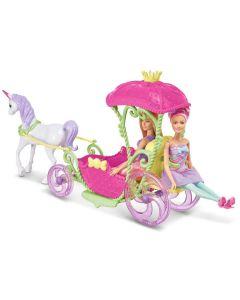 Barbie lalka z karocą i koniem Kraina Słodkości