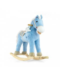 Konik koń na biegunach interaktywny Milly Mally Pony Blue - zdjęcie 1