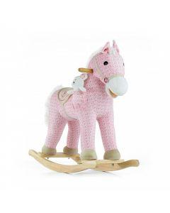 Konik na biegunach interaktywny Milly Mally Pony Pink - zdjęcie nr 1
