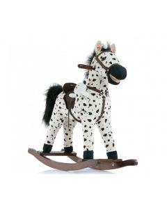Konik na biegunach interaktywny Milly Mally Mustang Black Dot - zdjęcie nr 1