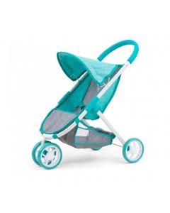 Wózek spacerowy dla lalek Milly Mally Susie Prestige Mint - zdjęcie 1