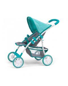 Wózek spacerowy spacerówka dla lalek Milly Mally Natalie - zdjęcie 1